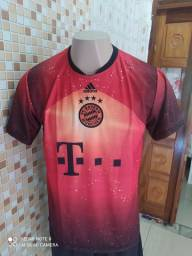 Camisa laranja Bayer