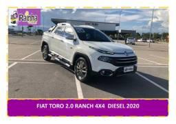 Fiat Toro 2.0 Ranch 4x4 Aut. Diesel 2020