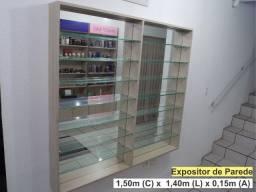 Título do anúncio: Prateleira Vidro - Expositor de Loja ou Colecionáveis