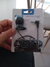 Mini Microfone de Lapela