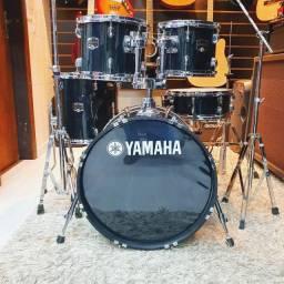 """Bateria Yamaha GigMaker 20"""" com Kit Bag de Brinde  - Somos Loja"""