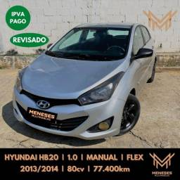 Título do anúncio: Hyundai HB20 1.0 2014 FLEX