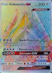Promoção!! Carta Pokémon Básico Celesteela Gx Ps 200 162/156