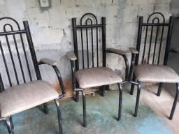 Vendo conjunto de cadeiras de varanda 260 reais