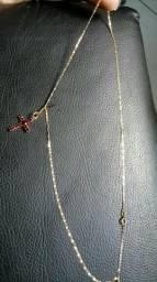 Cordão Ouro com pingente
