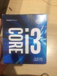 Processador i3 6100 1151