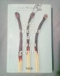 Livro Notas Suicidas de Belas Garotas