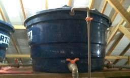 Instalação e manutenção de caixas d'água