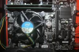 Kit gamer i5 4590 - 8gb de ram - Placa mãe h81-mh