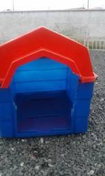 Casa de cachorro médio porte