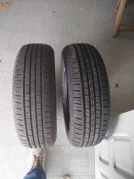 Pneus 185 65/r15 Novos e roda ferro 15 montana