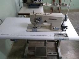 Máquina de costura 2 agulhas