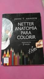 Livro Netter Anatomia para colorir