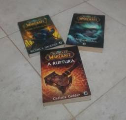 3 Livros World of Warcraft (Wow)