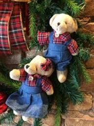 Guirlanda de Natal de ursinhos!