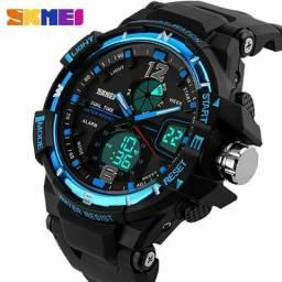 Relógio Skmei Azul - entrega grátis