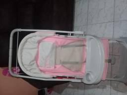Carrinho bebê rosa