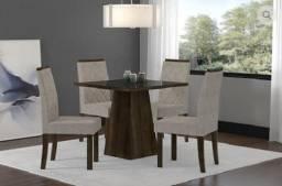 Mesa Cristal 4 cadeiras
