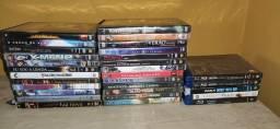 Filmes em blue-ray e DVD