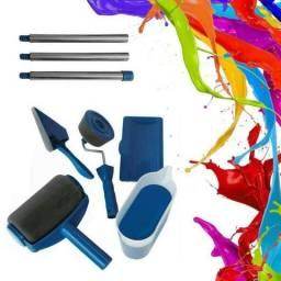 Kit 8 Pcs Rolo Pintura Inteligente Sem Sujeira Pintar Facil - 82768