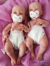 Vendo Bebê reborn com olhinhos que abre e fecha