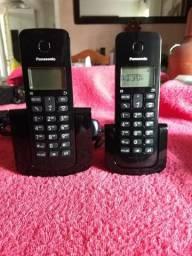 Telefone sem fio com 1 ramal