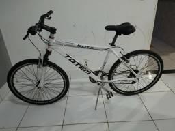 Bicicleta aro 26 de aluminio. revisada so andar