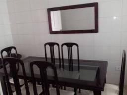 Entrega incluso Sala de Jantar de madeira de lei imbuia classe requinte e conforto