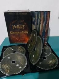 Box O Hobbit E O Senhor Dos Anéis - Versão Estendida - 36 Discos