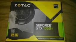 Placa de vídeo geforce gtx 1050ti 4gb Zotac mini