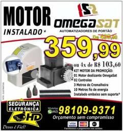 Motor para Portão - Portão Eletrônico R$ 359,90 instalado