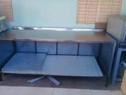 Vendo mesa de inox
