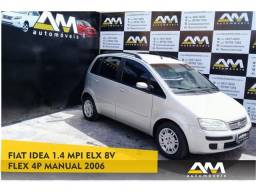 Fiat Idea 1.4 mpi elx 8v flex 4p manual - 2006