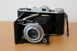 Máquina Fotográfica de fole marca Agfa modelo Billy - Raríssima - Made in Germany