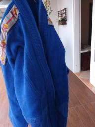 Kimono trançado Azul Dragão