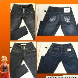 Calças Jeans - tamanho 38 (Novas)