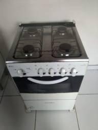 Fogão e microondas 200 reais os dois juntos