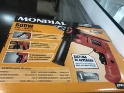 Furadeira Mondial nova na caixa