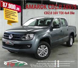 VOLKSWAGEN AMAROK 2016/2016 2.0 TRENDLINE 4X4 CD 16V TURBO INTERCOOLER DIESEL 4P MANUAL