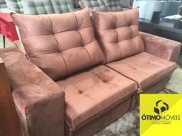 Sofá retrátil e reclinável 2.2 R$:2200