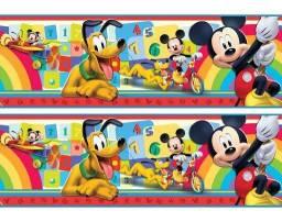 Faixa Decorativa Infantil (Papel de Parede) Mickey Mouse e Pluto Disney - Rolo 5 M - R$ 40 comprar usado  Brasilia