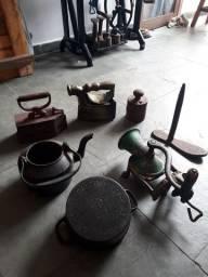 Antigos de ferro fundido decoração
