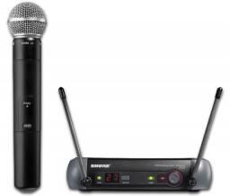 Microfone Shure SM pgx2 58 sem fio
