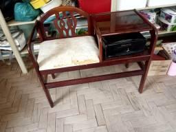 Mesa de Telefone com Assento