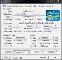Processador Intel i3-2100 Dual Core-1155 .