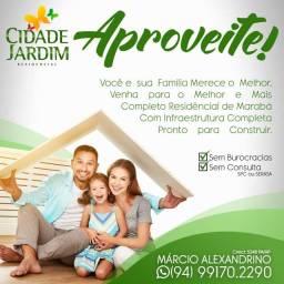 Lotes Residencial Cidade Jardim - Marabá -Pará
