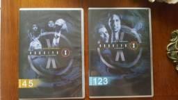 DVDs série Arquivo X - clássico de ficção científica - Temporadas diversas