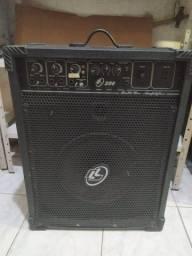 Caixa de som LL audio 200, bom estado de conservação