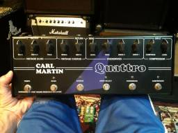 Pedal Carl Martin Quattro Drive Echo Chorus Compressor Boost