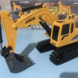 Miniatura Máquina Escavadeira